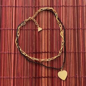 Layering necklace- Anthropology
